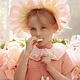 MERIMERI Floral bunny necklace
