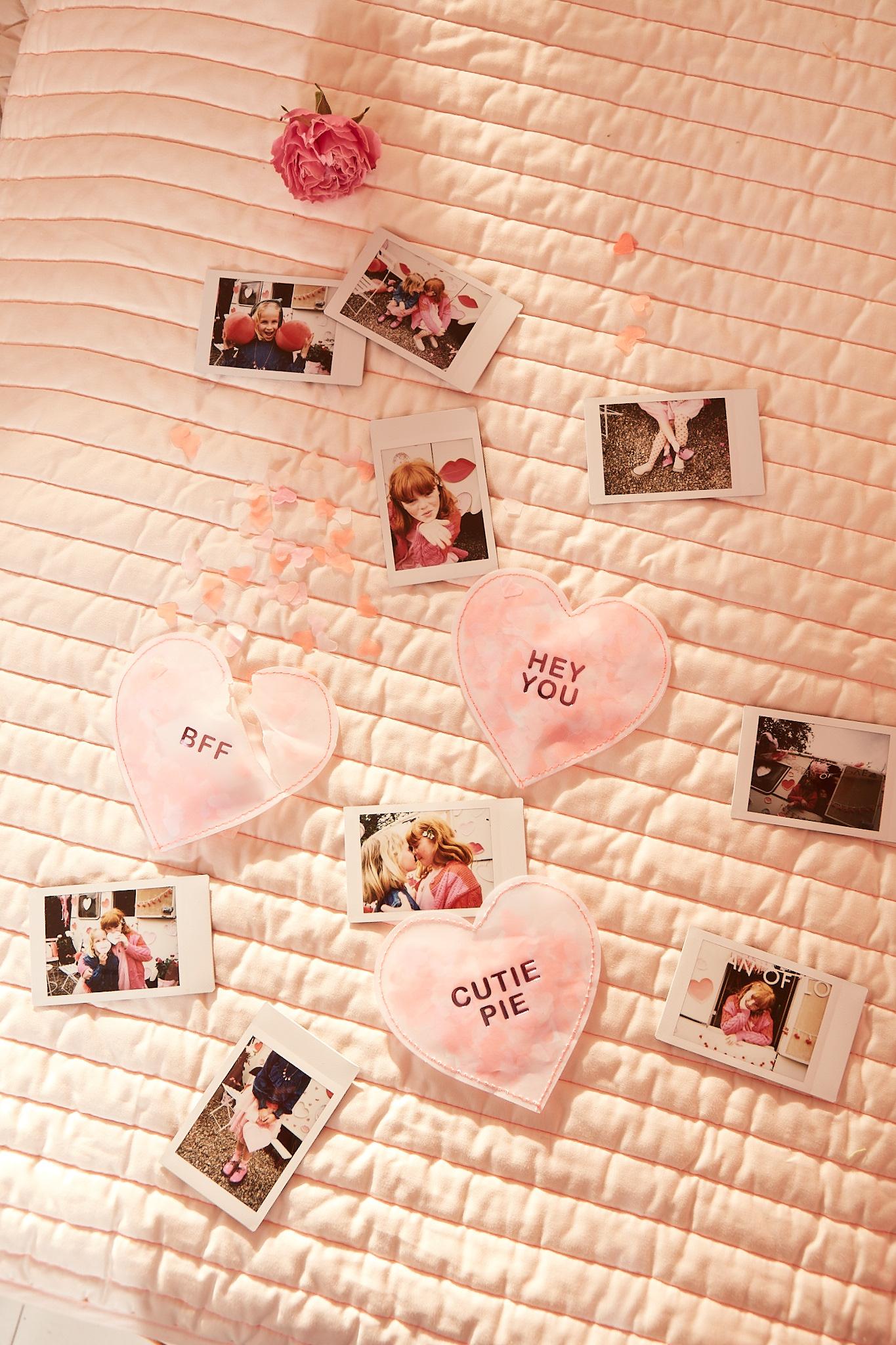 MERIMERI Love heart shaker love notes