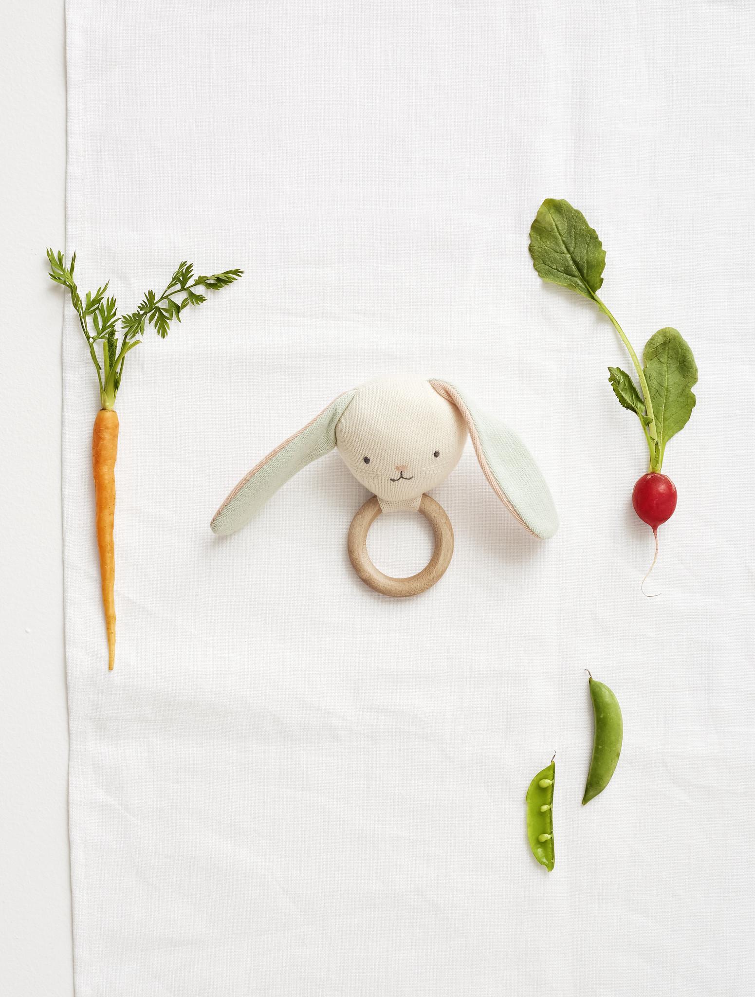 MERIMERI Bunny baby rattle