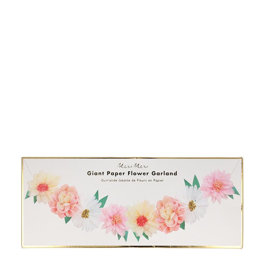 MERIMERI Flower garden garland XL