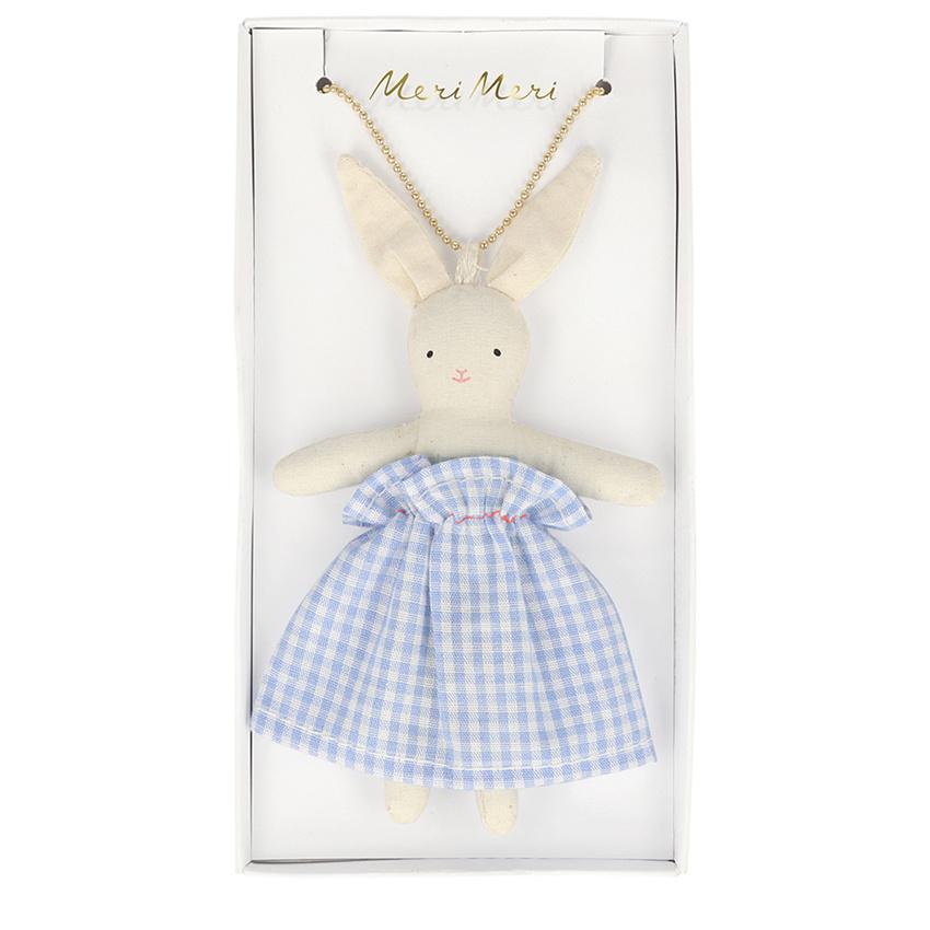 MERIMERI Bunny doll necklace