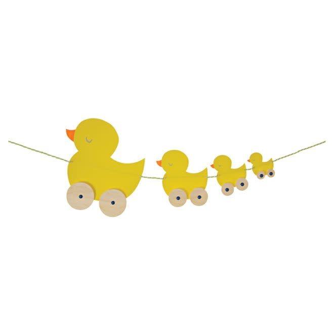 MERIMERI Duck train card