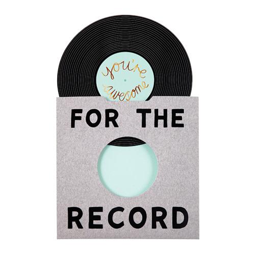 MERIMERI For the record card