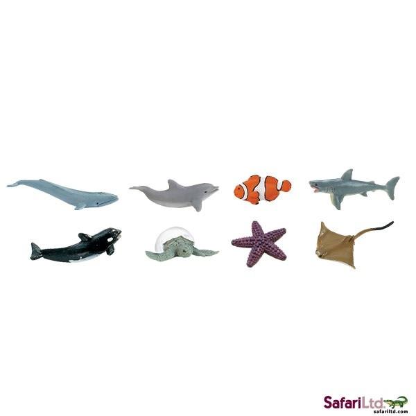 SAFARI ocean- mini animals 8 pieces