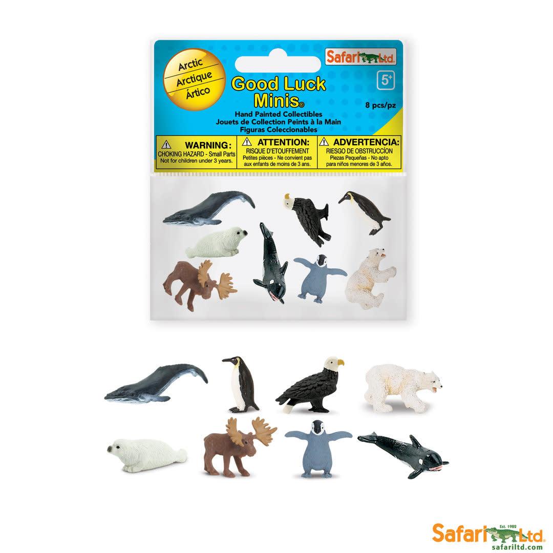 SAFARI arctic- mini animals 8 pieces