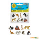 SAFARI exotic- mini animals 8 pieces