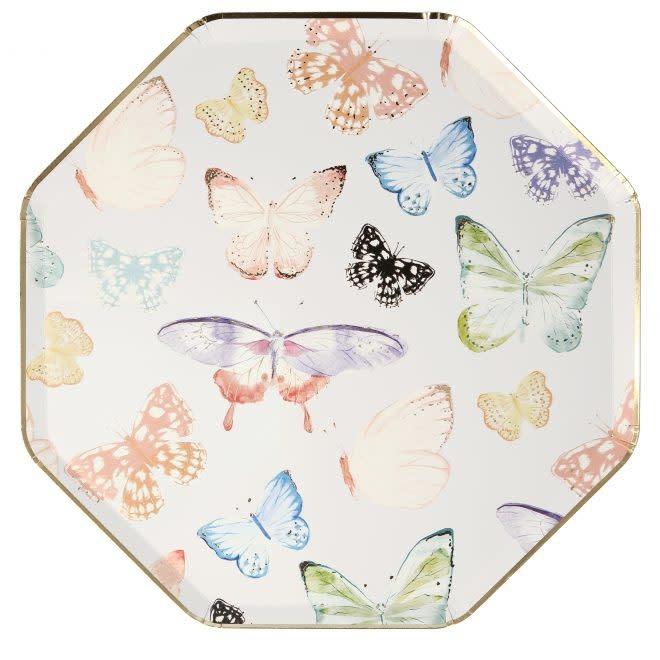 MERIMERI Butterfly dinner plates
