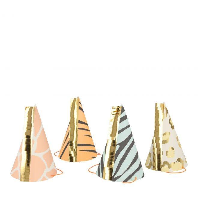 MERIMERI Safari animal print hats