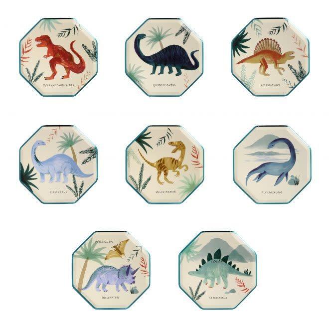 MERIMERI Dinosaur Kingdom side plates