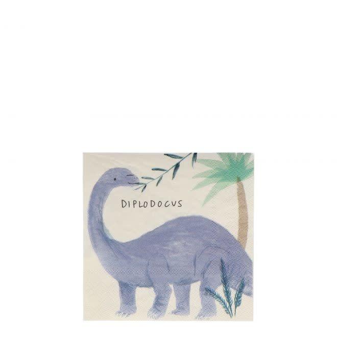 MERIMERI Dinosaur Kingdom napkins S