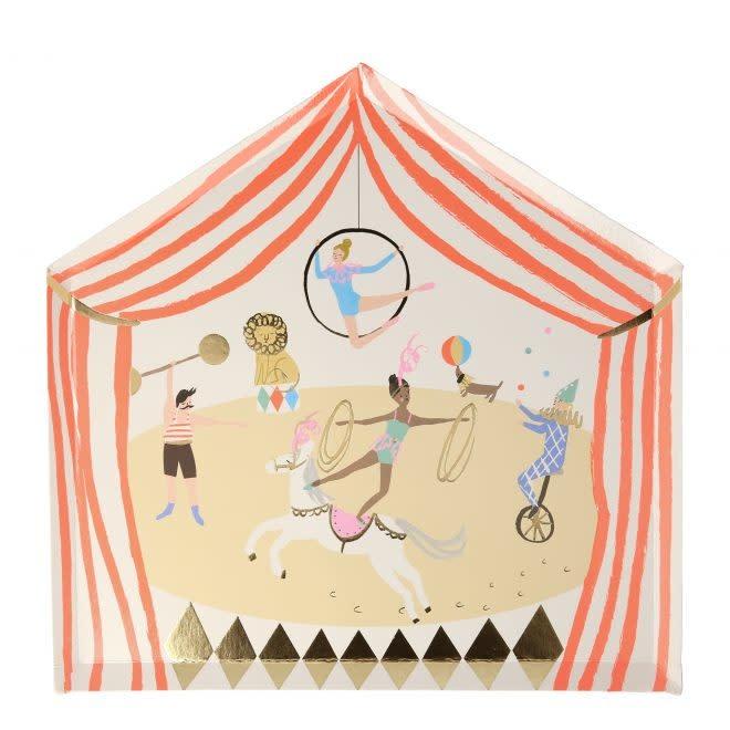 MERIMERI Circus Parade plates