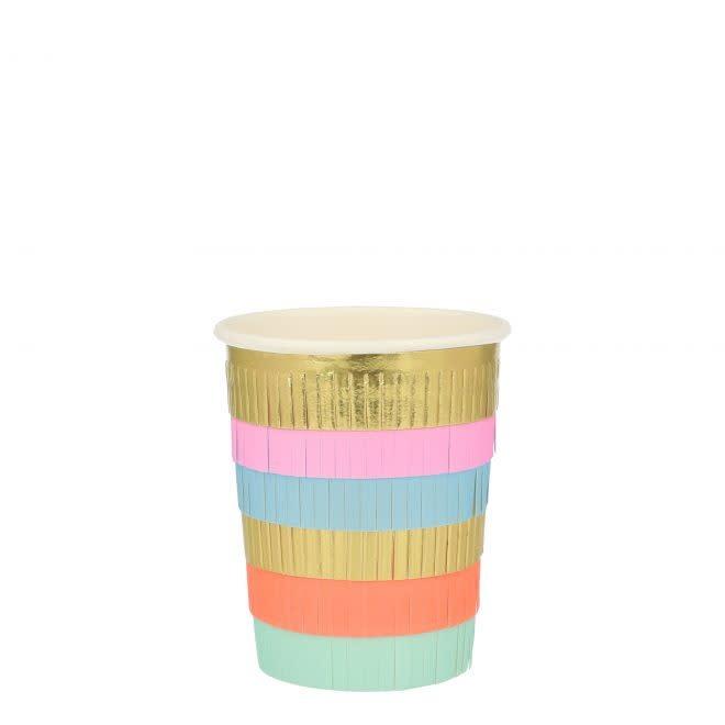 MERIMERI Circus fringe cups