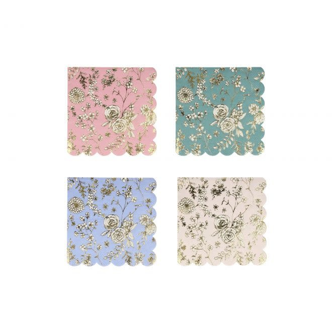 MERIMERI English Garden Lace napkins S