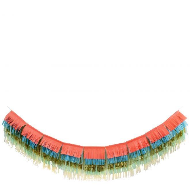 MERIMERI Colorful fringe garland L