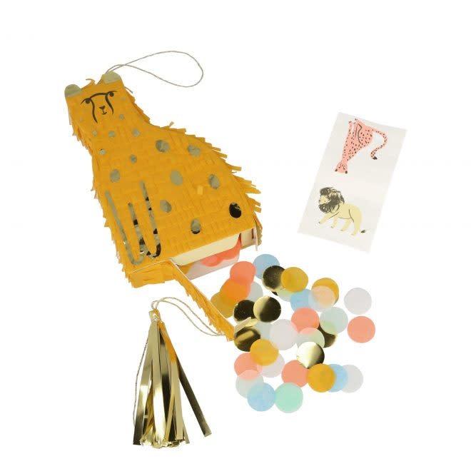 MERIMERI Cheetah piñata favor