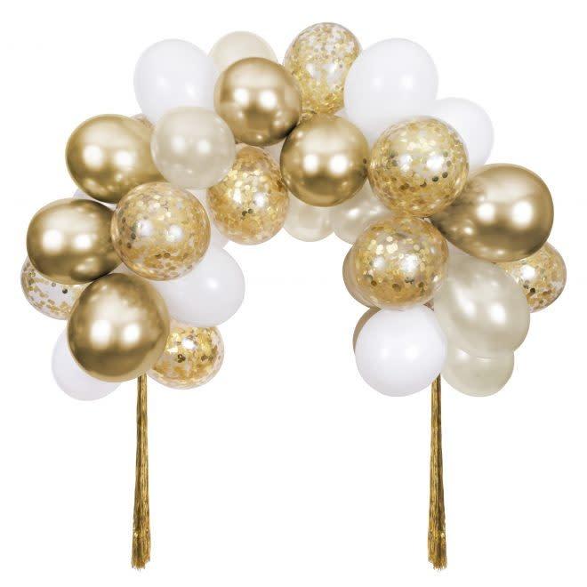 MERIMERI Gold balloon arch kit