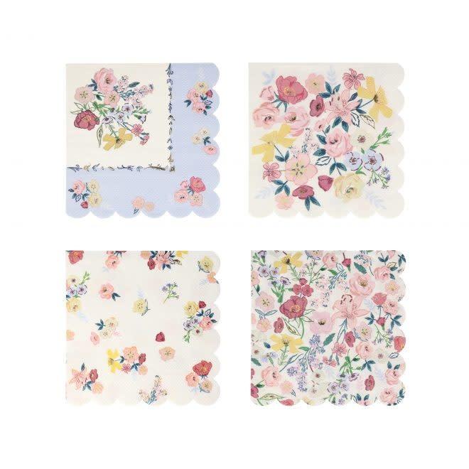 MERIMERI English Garden napkins L