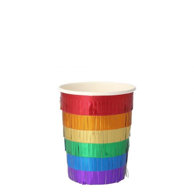 MERIMERI Rainbow fringe cups