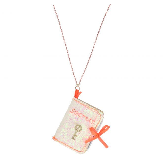 MERIMERI Secrets Book necklace