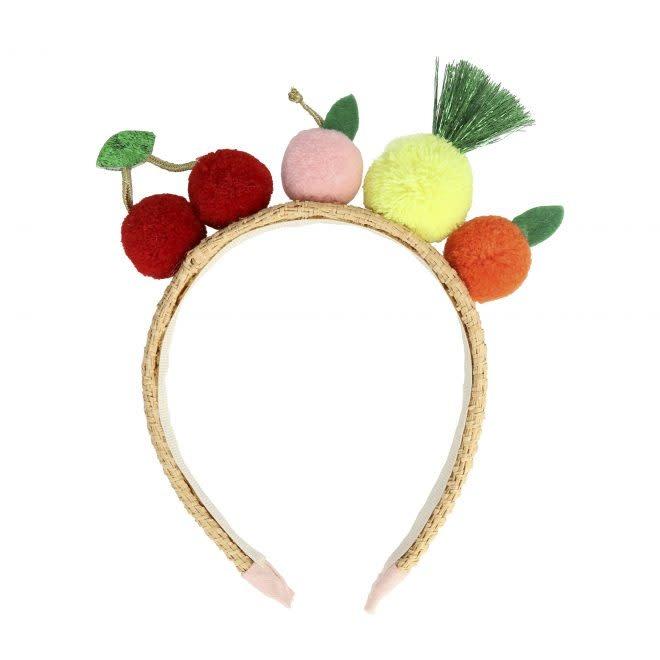 MERIMERI Fruit pompom headband