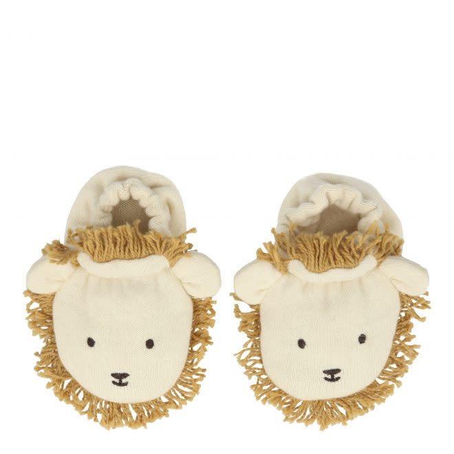 MERIMERI Lion baby booties