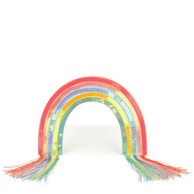 MERIMERI Rainbow stand-up card