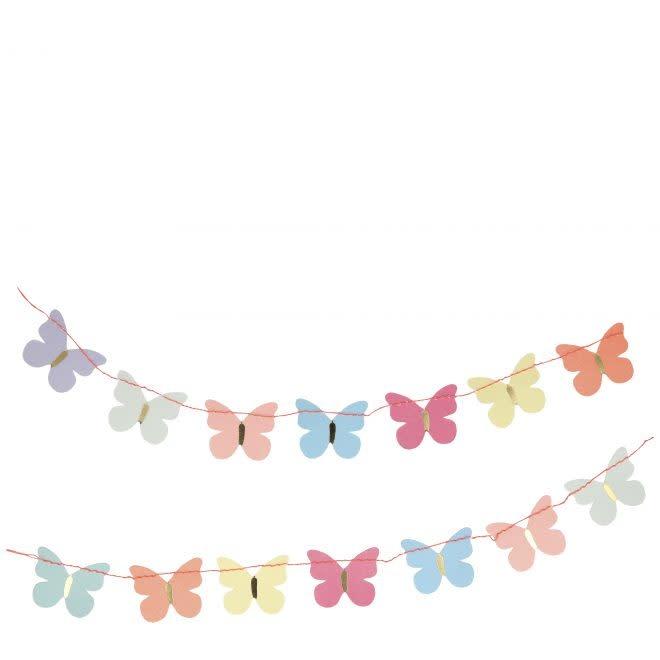 MERIMERI Butterfly garland card