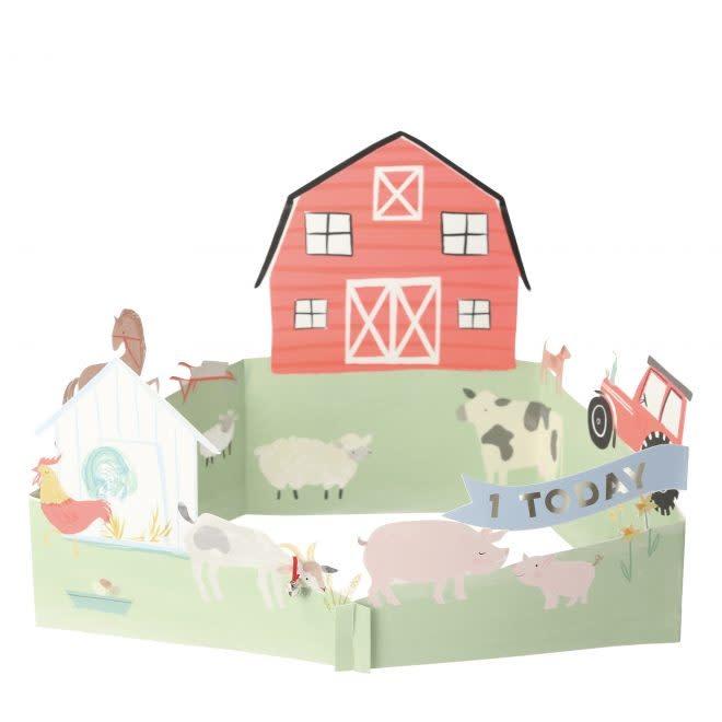 MERIMERI On the farm 3D card