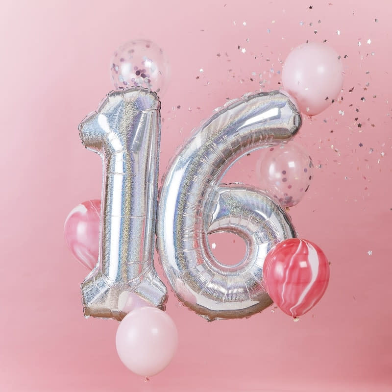 GINGERRAY Balloon Bundle 16th Birthday- StarGazer Birthday