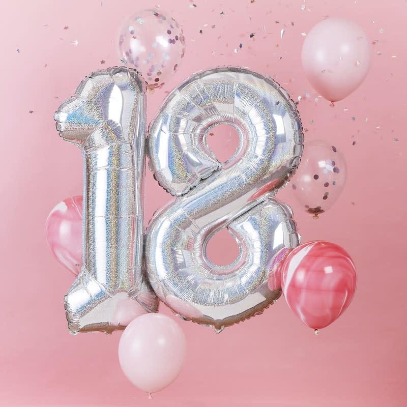 GINGERRAY Balloon Bundle 18th Birthday- StarGazer Birthday