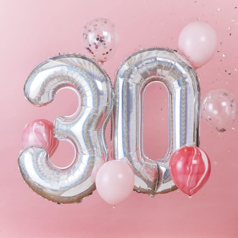 GINGERRAY Balloon Bundle 30th Birthday- StarGazer Birthday