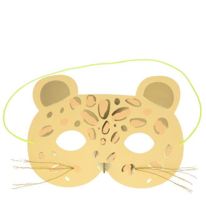 MERIMERI Leopard mask card