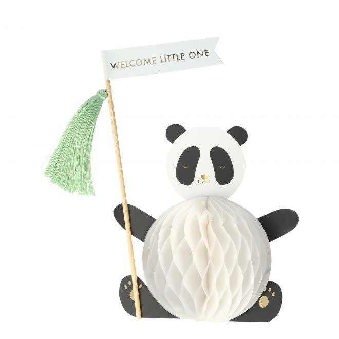 MERIMERI Baby panda stand-up card