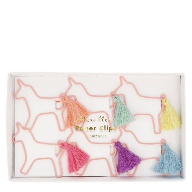 MERIMERI Unicorn shaped paper clips