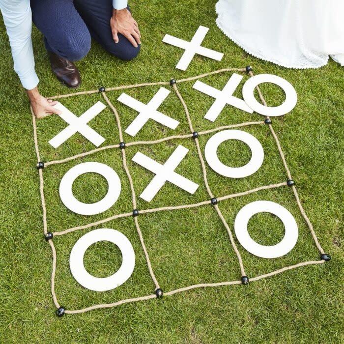 GINGERRAY WEDDING GARDEN GAMES OUTDOOR NOUGHTS & CROSSES