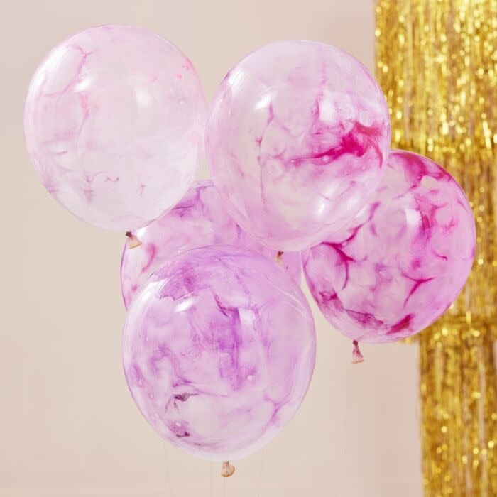 GINGERRAY PINK PAINT BALLOONS