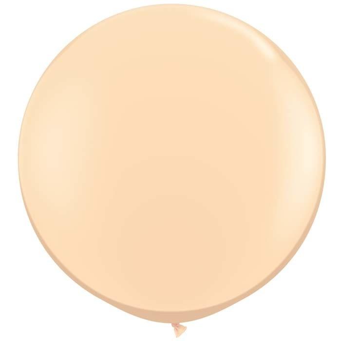 SMP 1 round latex balloon blush 90 cm