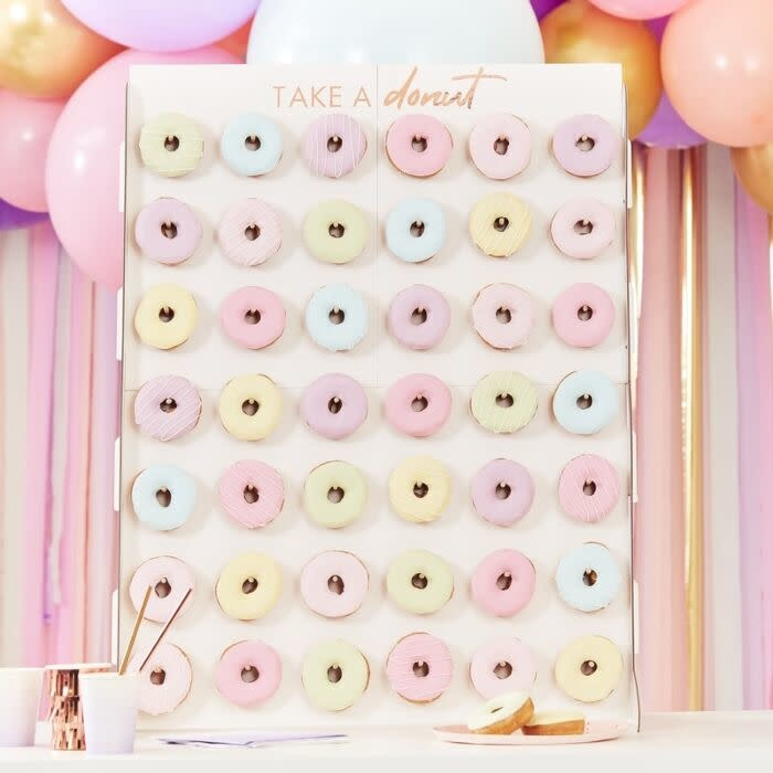 GINGERRAY GIANT DONUT WALL DISPLAY STAND