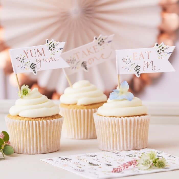 GINGERRAY AFTERNOON TEA CUPCAKE TOPPERS