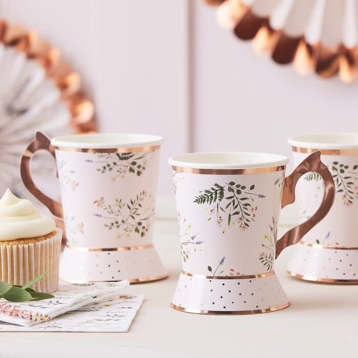 GINGERRAY AFTERNOON TEA PARTY CUPS