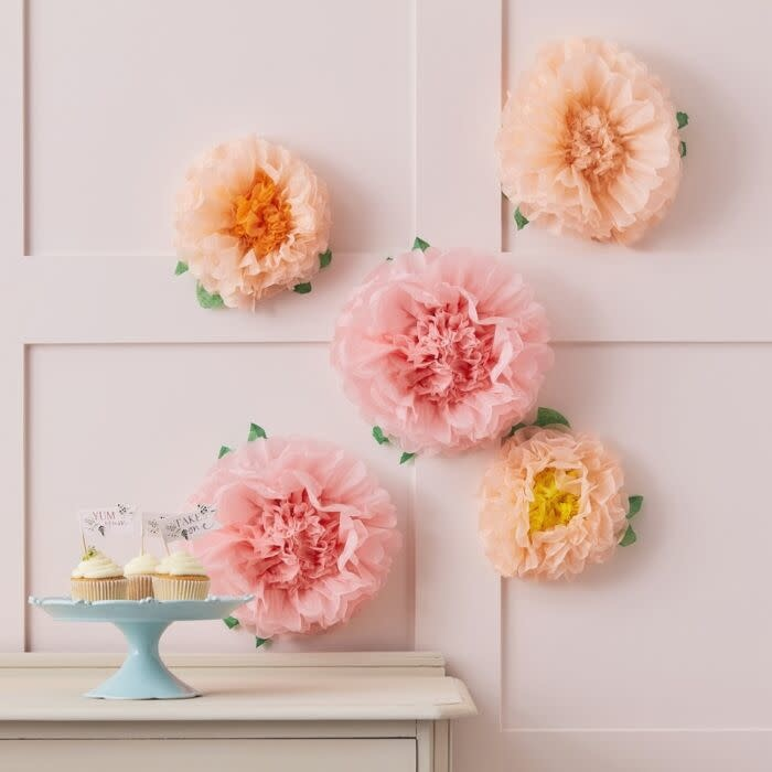 GINGERRAY TISSUE PAPER FLOWERS DECORATION