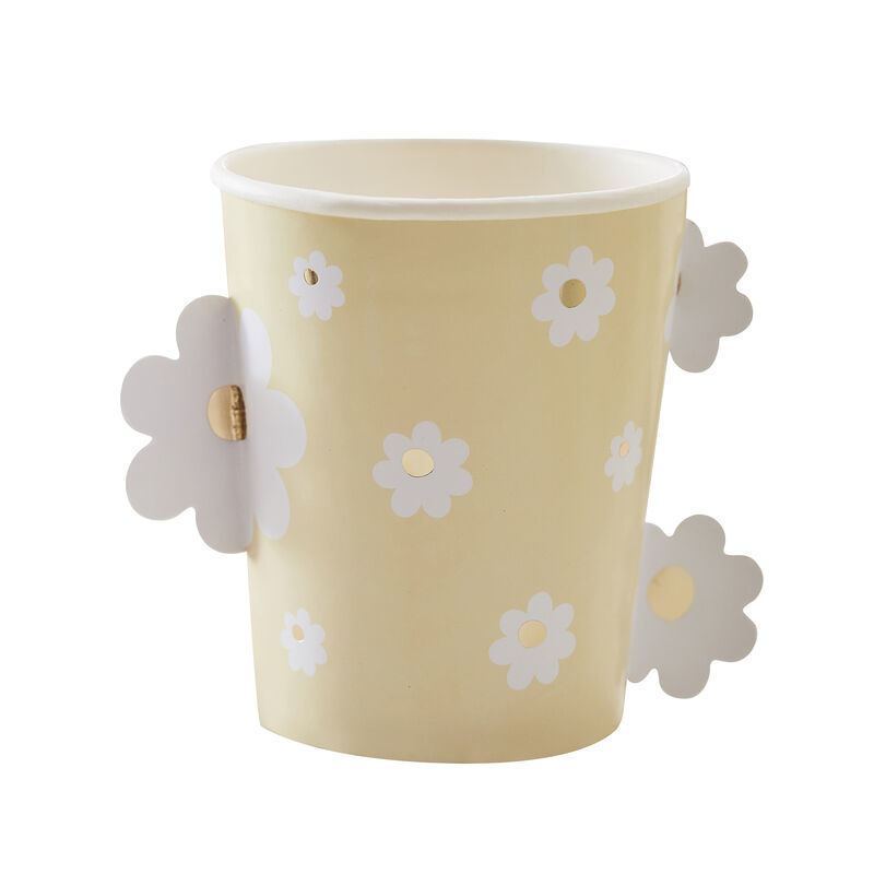 GINGERRAY DAISY EASTER PAPER CUPS