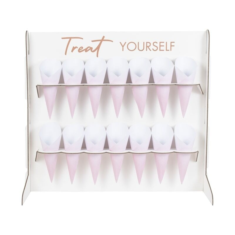 GINGERRAY FOOD CONES SWEET TABLE TREAT STAND