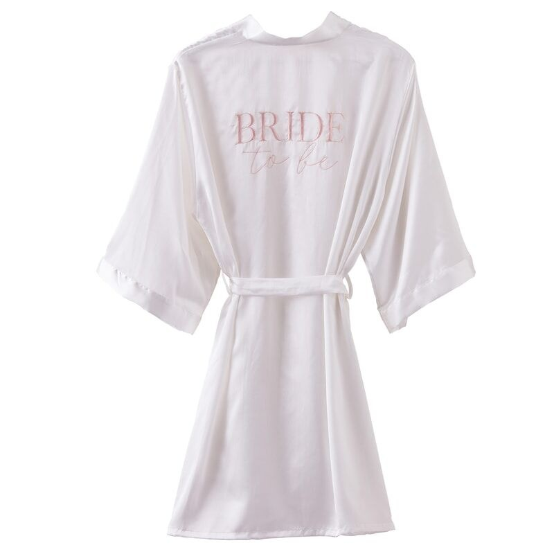 GINGERRAY BRIDE TO BE DRESSING GOWN