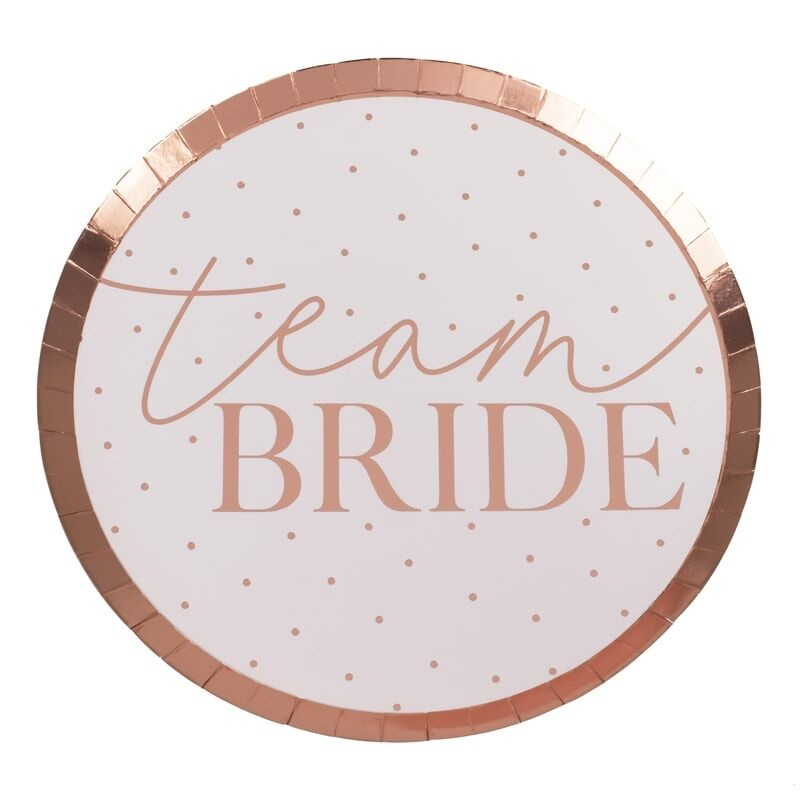GINGERRAY TEAM BRIDE HEN PARTY PLATES