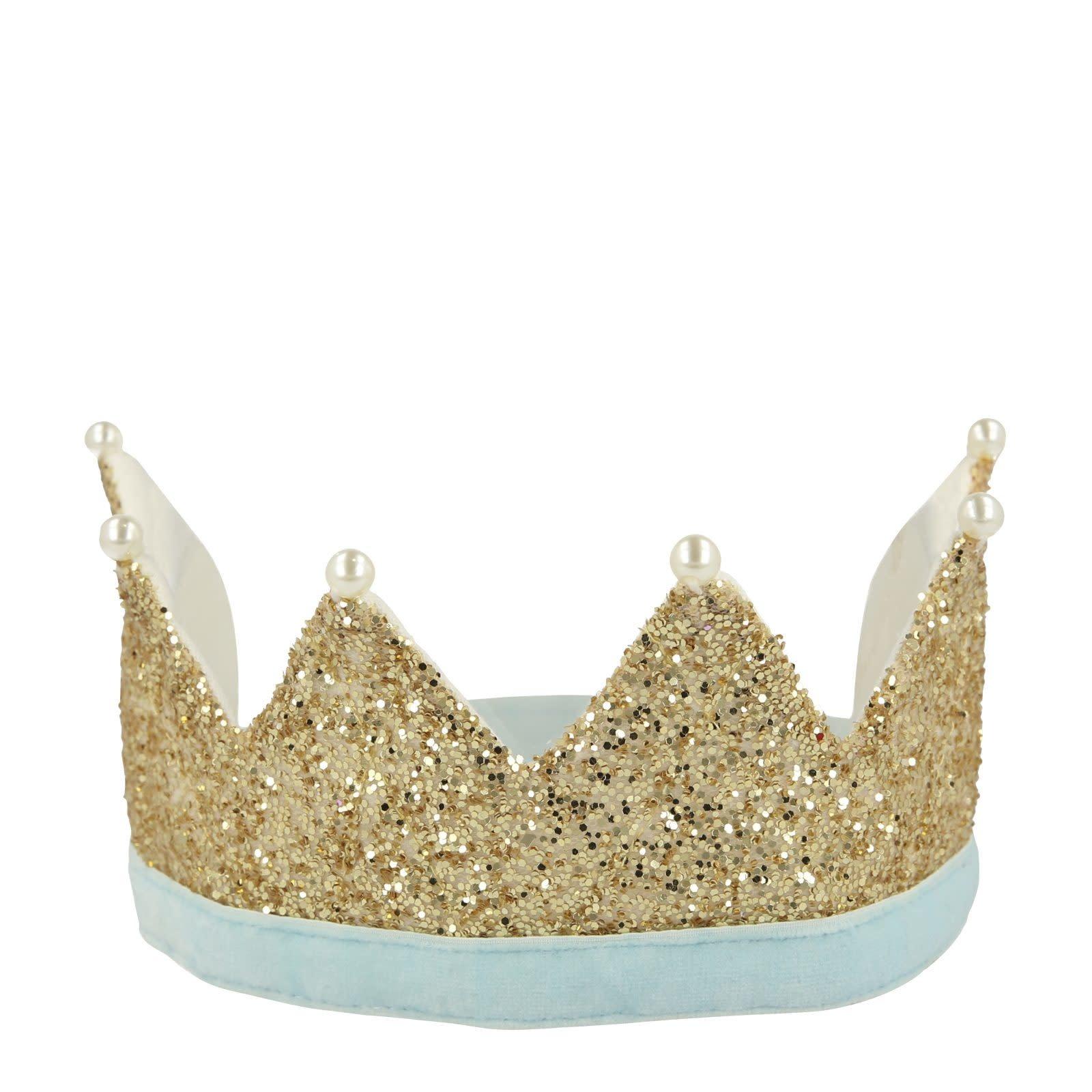 MERIMERI Gold & pearl crown