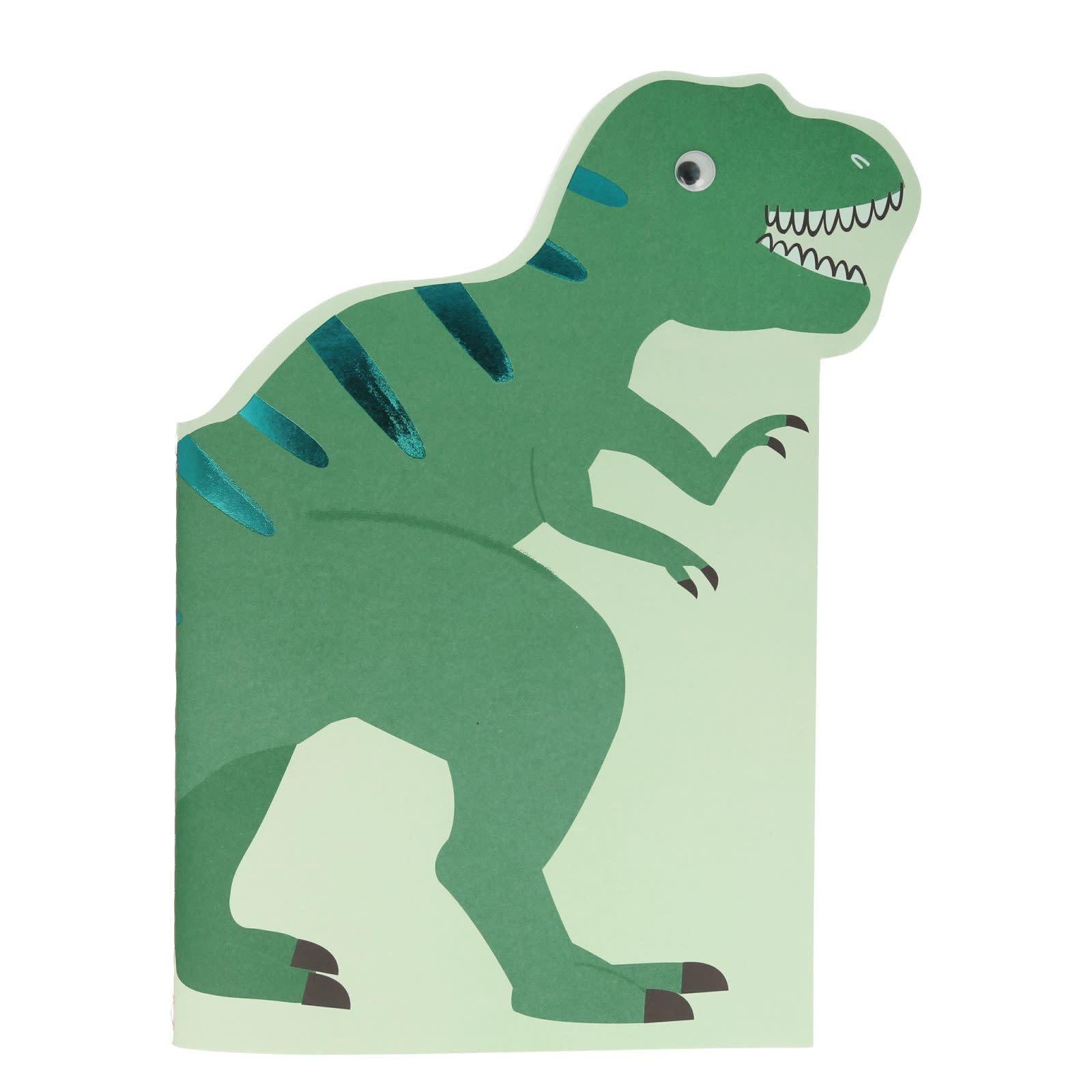 MERIMERI Dinosaur sticker & sketchbook