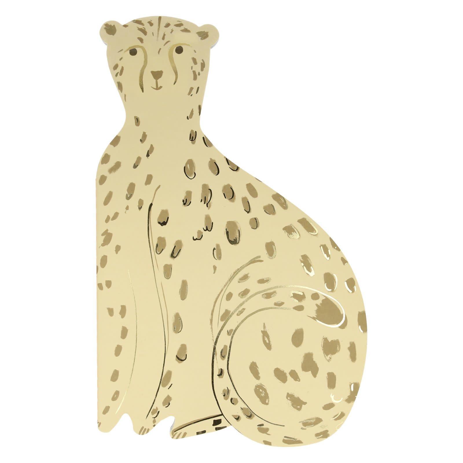MERIMERI Cheetah sticker & sketchbook
