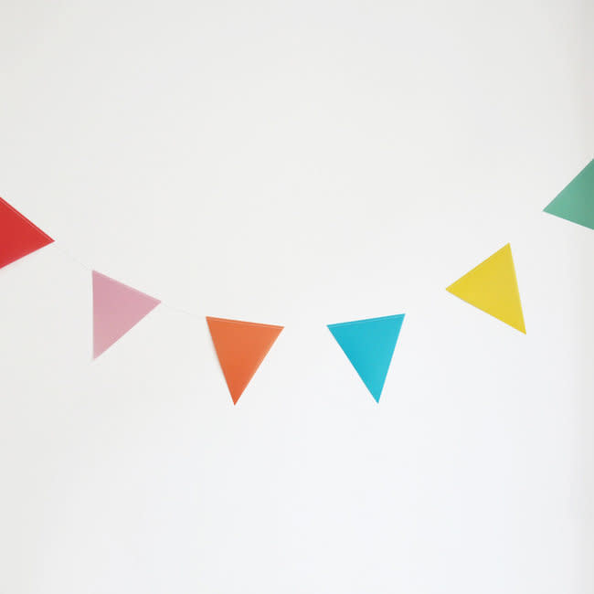 MY LITTLE DAY multi color bunting