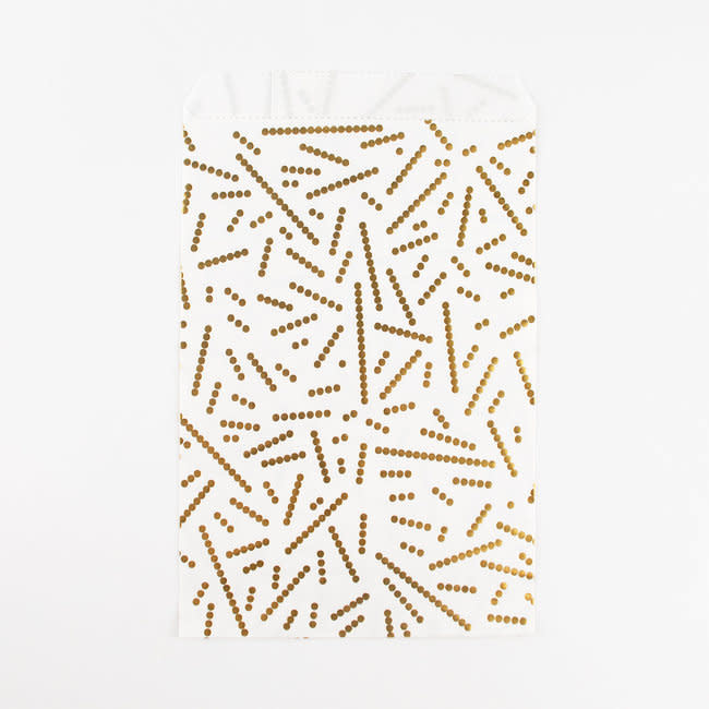 MY LITTLE DAY 10 gold pearls paper bags